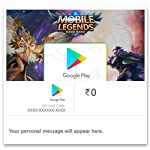 Get Upto Rs.249 Value in Mobile Legends: Bang Bang!||Google Play Gift Code - Digital Voucher