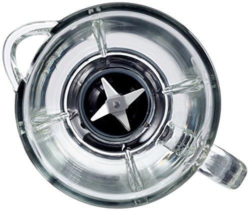 AmazonBasics   Batidora de vaso (550 W  1 5 L  vaso de cristal)  color negro