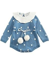 HCFKJ Ropa Bebe NiñA Invierno NiñO Manga Larga Camisetas Beb Conjuntos Moda  Bebé ReciéN Nacido NiñO c462255c00df