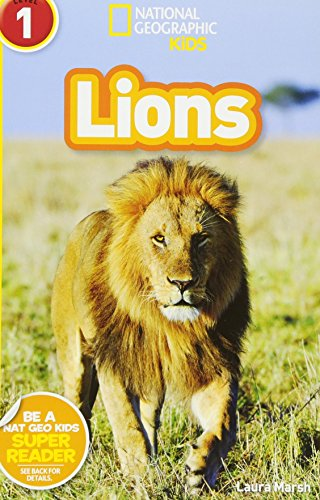 National Geographic Kids Readers: Lions (National Geographic Kids Readers: Level 1)