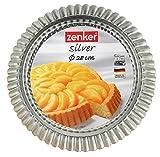 Zenker 6821 Obsttorrtenform  28 cm, silver