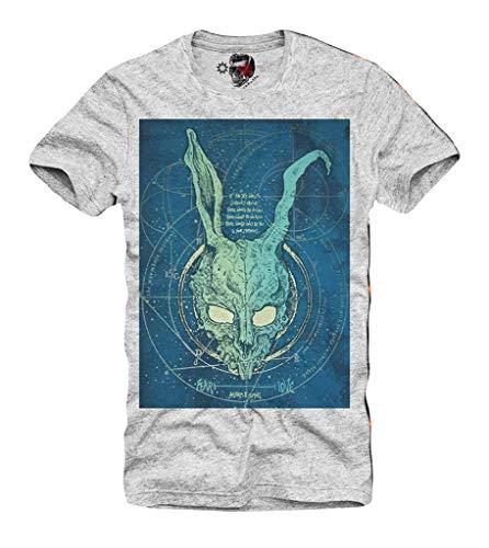 DONNIE DARKO FRANK Rabbit Skull MOVIE GRAU S/M/L/XL ()