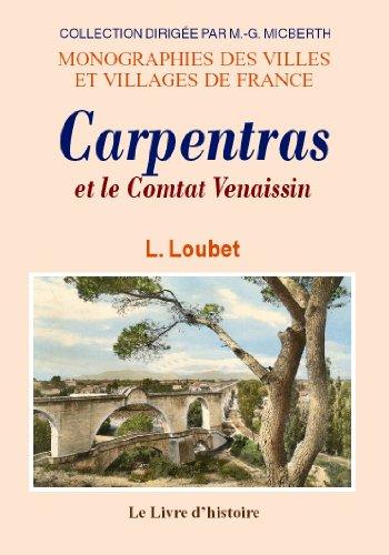 L'histoire de Carpentras par Collectif