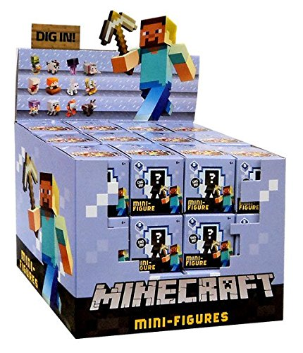 Minecraft Toys And Mini Figures For Kids : Other action figures minecraft ice series mini figure