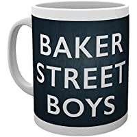 Sherlock - Tasse Baker Street Boys Sherlock Holmes Docteur Watson - Céramique, 300ml
