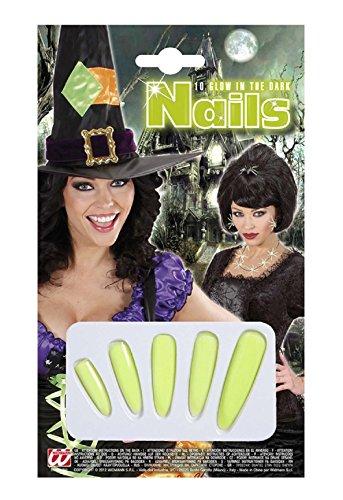 Widmann Kostüm Set - Verkleidung - Karneval - Halloween - Hexe - Megera - MAGA - Farbe Multicolor Five Nails - Erwachsene - Frau - ()