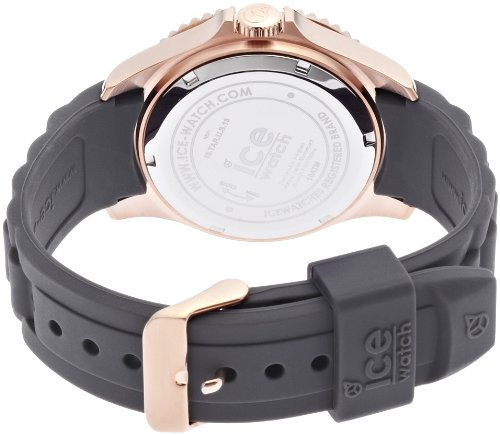 Ice Watch Unisex Quartz Watch with Style Taupe Grey Analogue Quartz Silicone is. Tar. U.S.13