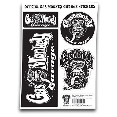 Gas Monkey Garage Sticker Adesivo standard
