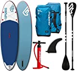 Fanatic Pure Air Inflatable SUP 10.4 Stand up Paddle Board mit Pure Paddel 2019