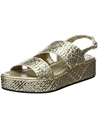 Pon′s quintana Copper woven leather sandal with tassels women's Sandals in Discount Deals Top Quality Cheap Price cmgZrAc