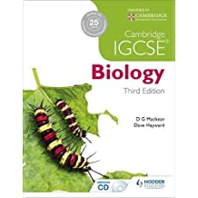 Cambridge IGCSE Biology 3rd Edition (Book & CD)