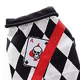 Queta Puppy Magician Cosplay Invierno Chessboard Térmico Mono Disfraz...