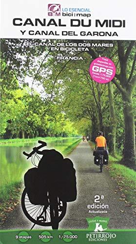 Canal du Midi y Canal del Garona: El Canal de los Dos Mares en Bicicleta (Bici:map) por Valeria Horvath Mardones