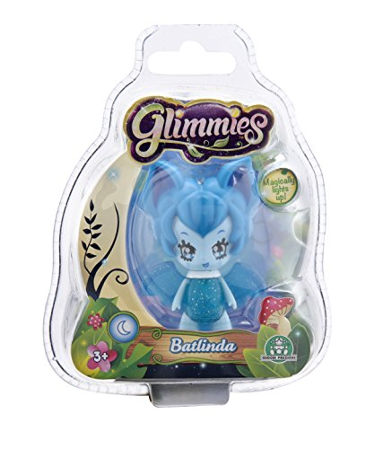 Glimmies Mini Bambola, Blister Singolo, Batlinda