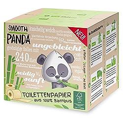 Bambus WC-Papier ohne Plastik