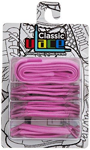 U-lace - In Line Couleur Unique, Accessori Per Calzature, Rosa Unisexe (rose (rose Vif))
