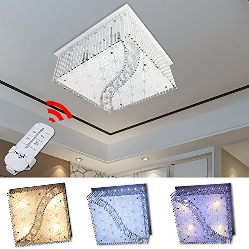 HG® Plafonnier Salle à manger IP44 Extrêmement plat Business Living Room Lampe moderne