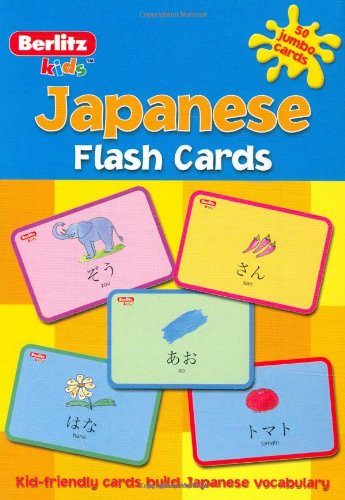 Japanese Berlitz  Flash Cards (Berlitz Kids) - Für Flash-karten Japanische Kinder