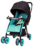 R for Rabbit Poppins (An Ideal Pram) Baby Stroller for Baby/Kids and Moms (Blue Black)