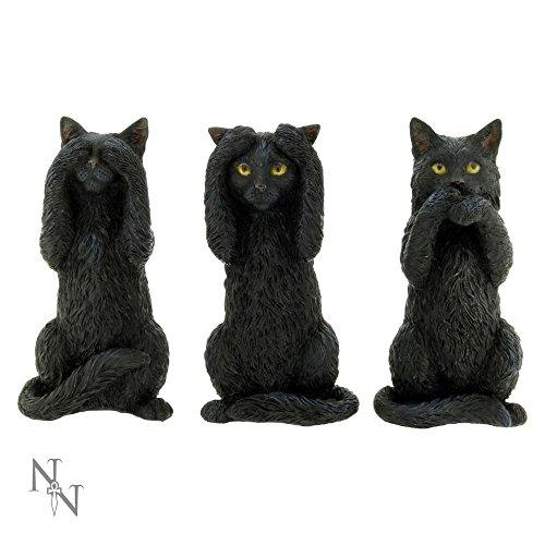 Nemesis Now Three Wise Cats Figurines