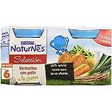 Nestlé Naturnes - Verduritas con Pollo a la Crema - Paquete de 2 x 200 g - Total: 400 g