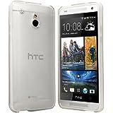 HTC One Mini Hülle Case Schutzhülle Silikon Cover für HTC One Mini M4 (Transparent)