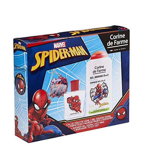 Corine de Farme Corine de farmme disney spider man set eau de toilette duschgel schlüsselanhänger 1 stück
