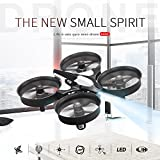 Hanbaili H36 mini drone avec le mode sans tête pour les enfants, 360 degrés de rotation de rouleau Un retour de clé facile à contrôler et Safty, les meilleurs jouets de vol pour vos enfants