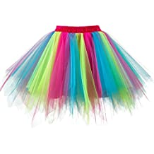 7d2f7d0e56831f Honeystore Damen's Neuheiten Tutu Unterkleid Rock Ballet Petticoat  Abschlussball Tanz Party Tutu Rock Abend Gelegenheit Zubehör