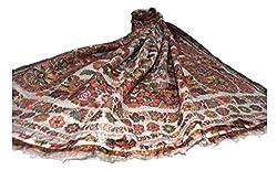 Sofias Exclusive Cashmere Wool KANI REPLICA Woven Medium Shawl,Size-70 cms x ...(New)