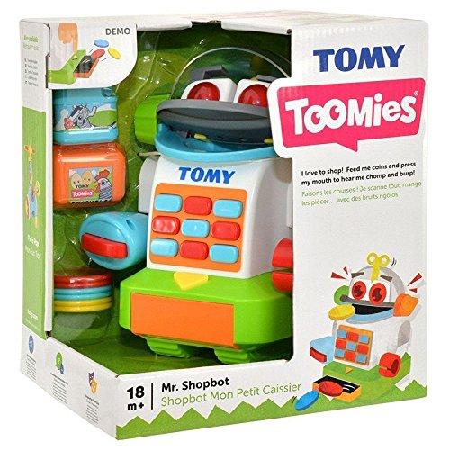 """TOMY E72612 – Spielzeug für Kinder """"Mr. Shopbot"""", Kleinkindspielzeug für Kinder ab 18 Monate, Mehrfarbig"""