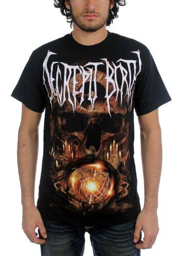 Decrepit Birth Odyssey-Maglietta a maniche corte, da uomo, colore: nero nero