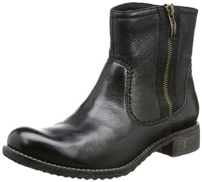 Tamaris TAMARIS 1-1-25411-21, Damen Combat Boots, Schwarz (BLACK 001), EU 41