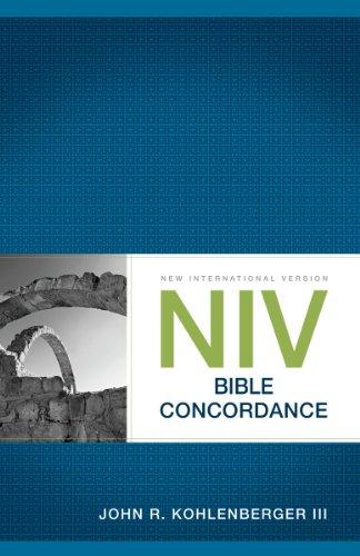 NIV Bible Concordance (Bible Niv)