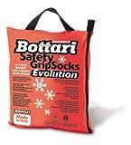 Bottari 68057: Calze da neve per auto, Taglia L, Prodotto compatibile con tutti gli pneumatici estivi, 4 stagioni o invernali