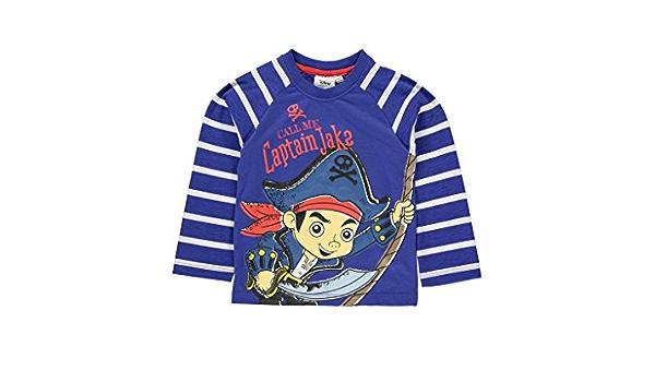 Langarmshirt~NEU~USA~DISNEY~92-98~Jake und die Nimmerland Piraten~Amerika~Pirat