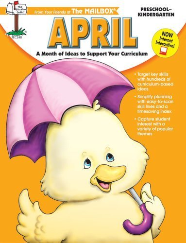April Monthly Idea Book by The Mailbox Books Staff (2002-12-15) -