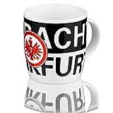 Eintracht Frankfurt Tasse Eintracht (one size, schwarz/weiß)