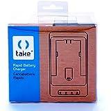 Take® tk-rc VW-VBG6Chargeur rapide pour batterie panasonic vW-vBG6, VW-VBG070, VW-VBG130, VW-VBG260, VW-VBG6, VWVBG6, vW-vBG6, vwvbg6K, VW-VBG6-K, VWVBG6PPK, VW-VBG6PPK