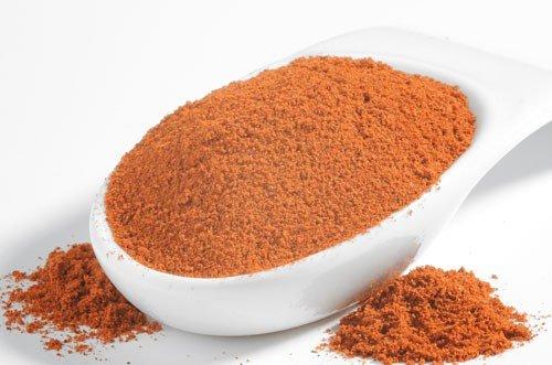 Chili 'Bih Jolokia' Gewürz, gemahlen, Schärfegrad 10++ ( 10 ) , 2-4 mal schärfer als Habanero-Chili, 15g
