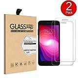 sunfay AGM x1Displayschutzfolie [2er Pack] [2.5D Glas] Premium gehärtetes Glas Oberfläche Härte Crystal Clear Displayschutzfolie Guard Cover für AGM x1–Transparent
