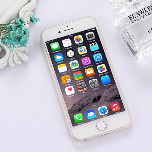 Phone Case & Hülle Für iPhone 6 Plus & 6s Plus TPU bereifte prägeartige Katze-Fang-Wand-Muster-schützende Fall-rückseitige Abdeckung ( SKU : Ip6p5303h ) Ip6p5303l