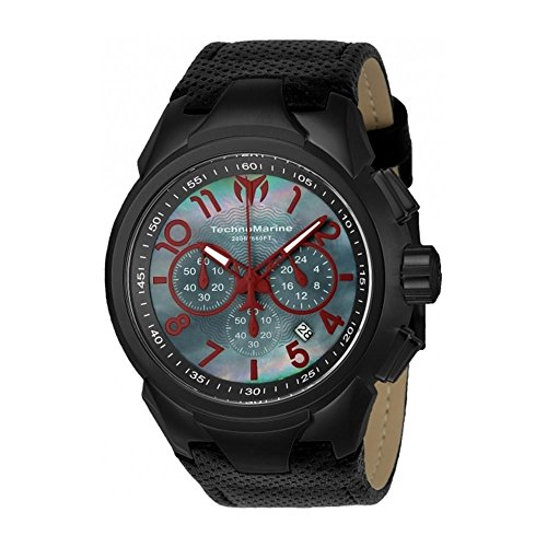 technomarine-mens-sea-dream-48mm-black-leather-band-steel-case-quartz-mop-dial-analog-watch-tm-71502