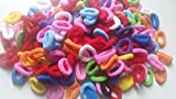 150, 100, 50 Pack of Girl's Hair Bobbles Bands Mini Baby Ponytail Elastic Stretchy Hairband