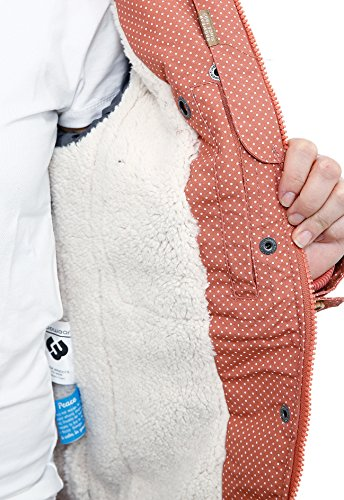 Ragwear Ewok Minidots Jacket Light Blue Rot