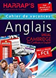 Harrap's Cahier de vacances anglais adultes sp Cambridge