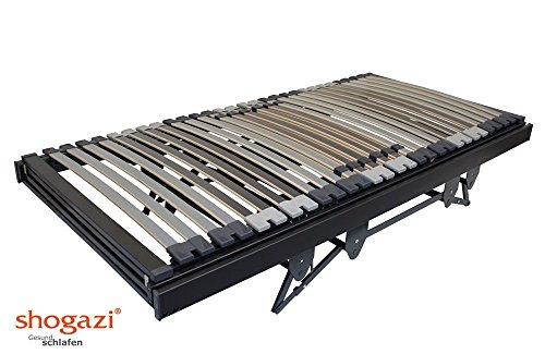 Krankenbett / Pflegebett – elektrischer höhenverstellbarer Lattenrost 3 Motoren – Made in Germany, Größe:120×220