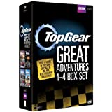 Top Gear - The Great Adventures 1-4 Box Set