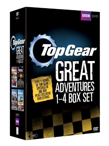 Top Gear - The Great Adventures 1-4 Box Set [8 DVDs] [UK Import]