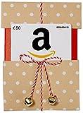 Amazon.de Geschenkgutschein in Geschenkkuvert - 50 EUR (Beige mit Punkten)